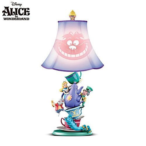 Disney 'Alice In Wonderland' Mad Hatter's Tea Party Lamp