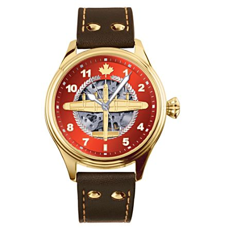 """""""The Dambusters"""" Lancaster Bomber Mechanical Watch"""