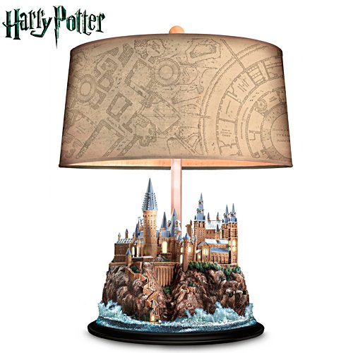 HARRY POTTER Table Lamp With Illuminated HOGWARTS Castle