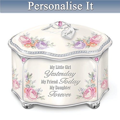 'My Daughter Forever' Personalised Music Box