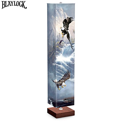 "Ted Blaylock ""Glory Of Flight"" Eagle Art Floor Lamp"