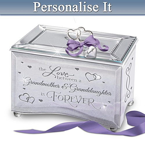 Grandmother & Granddaughter Love Personalised Music Box