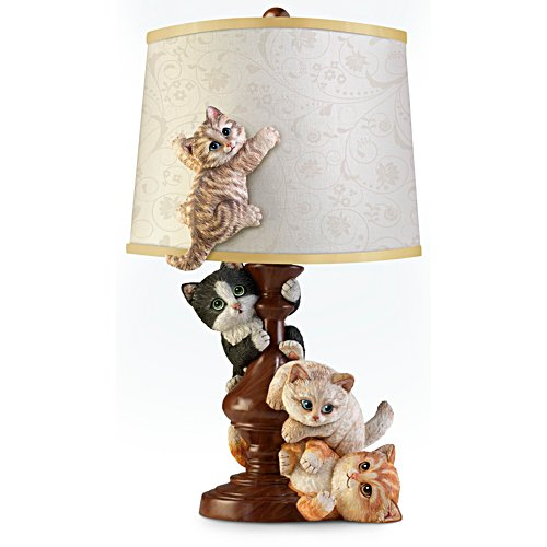 Cat-Tastrophe Sculpted Lamp