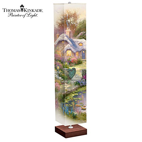 Thomas Kinkade Cottage Floor Lamp