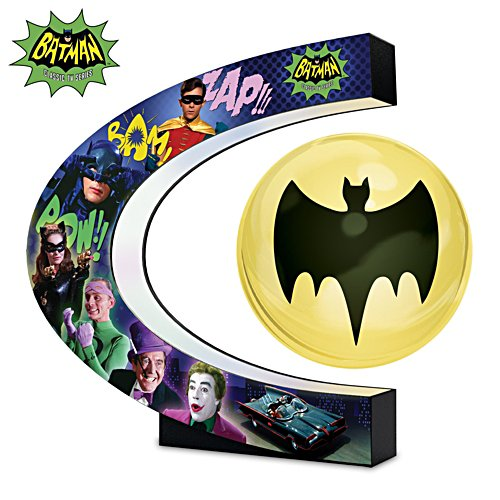 BATMAN Classic TV Series Levitating Bat-Signal Sculpture