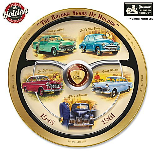 Golden Years of Holden Commemorative Collector Plate