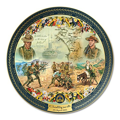 The Legend of Gallipoli 95th Anniversary Tribute Collector Plate