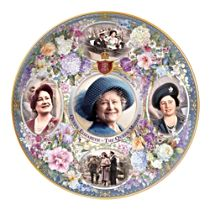 The Queen Mother Remembered Collector Plate