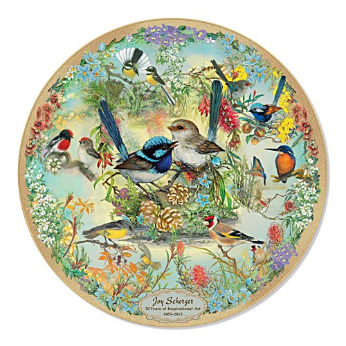 Joy Scherger 30th Anniversary Commemorative Collector Plate