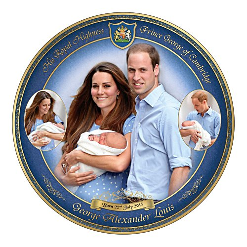 Prince George – Our Royal Heir Commemorative Plate