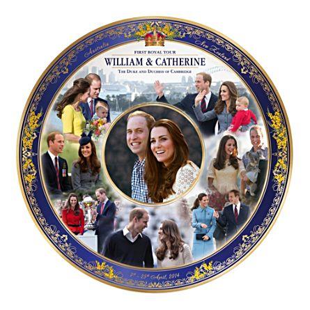 Royal Tour Commemorative Collector Plate