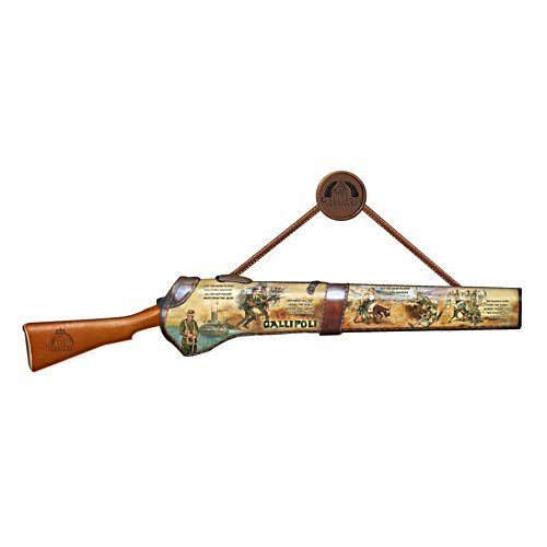 Centenary of Gallipoli Replica Rifle with Gallipoli Art