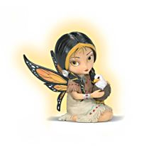 Dreamsky With Eagle Figurine
