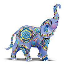Alzheimer's Support Elephant Figurine