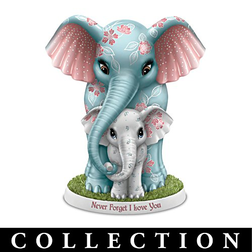 Unforgettable Love Elephant Figurine Collection