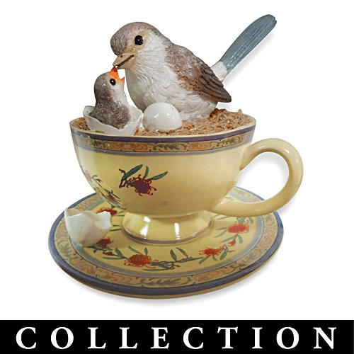 Tea-reasures of the Garden Teacup Sculpture Collection