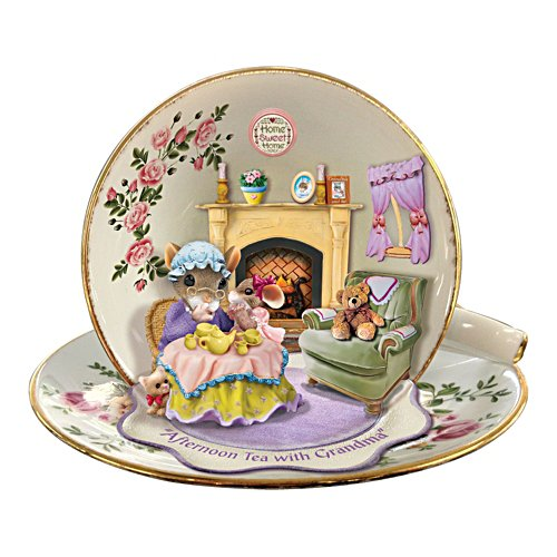 Granddaughter Gift Afternoon Tea With Grandma Figurine