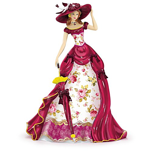 The Beauty of Roses and Wattle Figurine