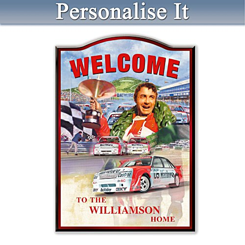 Peter Brock Personalised Welcome Sign