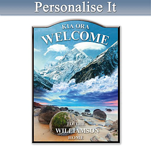 Kia Ora Personalised Welcome Sign