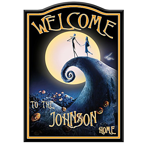 Nightmare Before Christmas Personalised Sign