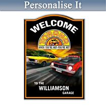 Holden Torana Personalised Welcome Sign