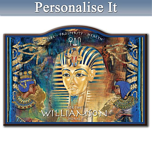 Egyptian Blessing Personalised Sign