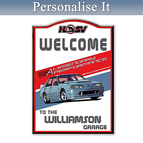 Holden HSV Performance Personalised Welcome Sign