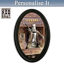 Ned Kelly Hotel Personalised Framed Plate