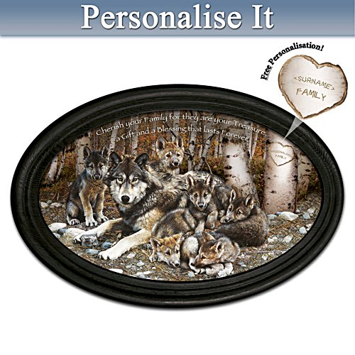Boundless Love Masterpiece Personalised Framed Plate