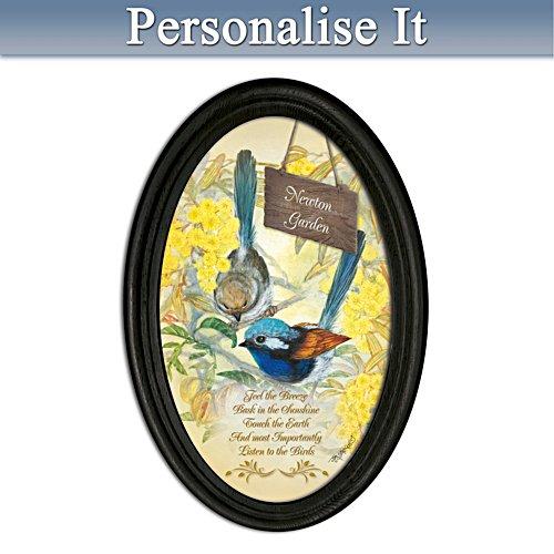 Fairy Wren Personalised Framed Print