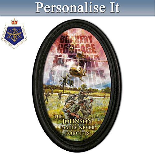 Veterans Remembered Personalised Collector's Plate