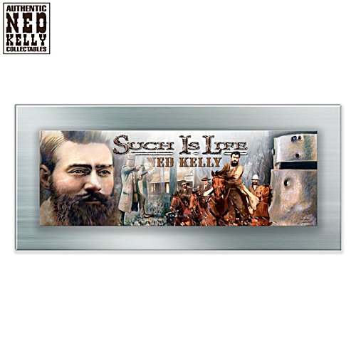 Ned Kelly Such is Life Panorama Gallery Editions Metal Print