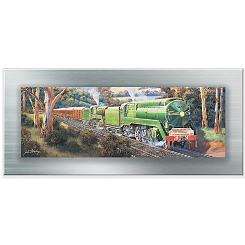 All Aboard the 3801 Gallery Editions Panorama Print