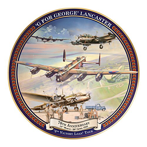 G For George 70th Anniversary Tour Collector Plate