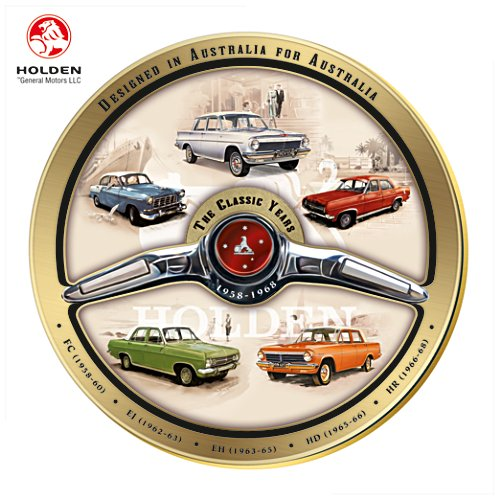 Classic Years of Holden Gallery Edition Collector Plate