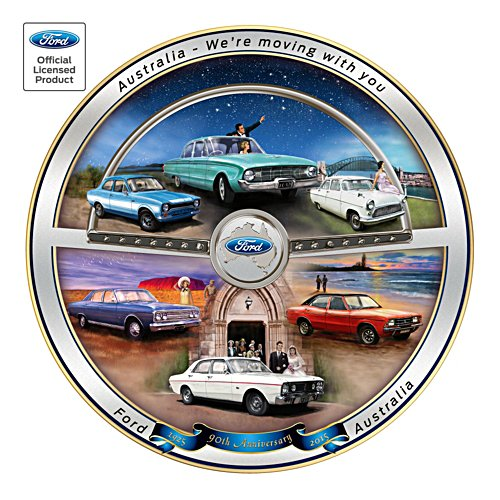 Ford 90th Anniversary Commemorative Plate
