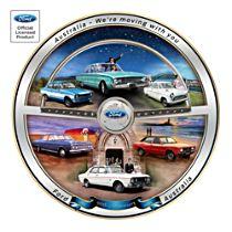 Ford Australia 90th Anniversary Gallery Commemorative Plate