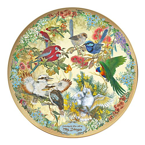 Joy Sherger's Joy to the World Collector Plate