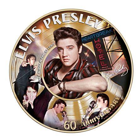 Elvis™ 60th First Number 1 minnestallrik