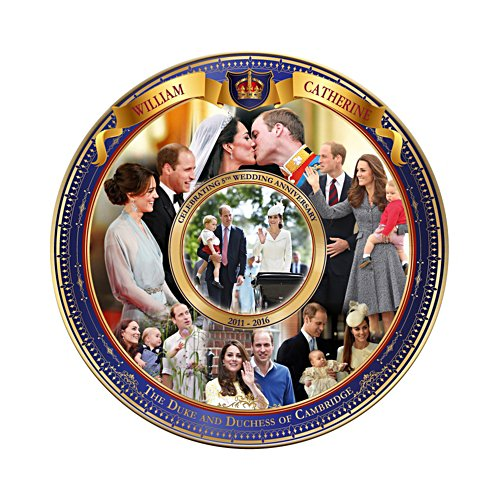 The Royal Wedding Anniversary Collector Plate