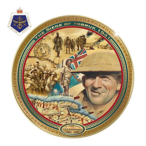Siege of Tobruk Commemorative Collector Plate