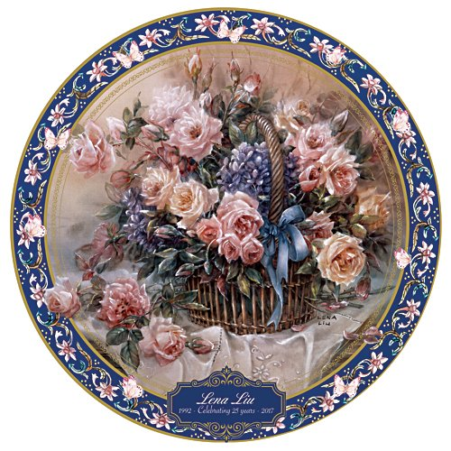 Lena Liu Gallery Editions Commemorative Collector Plate