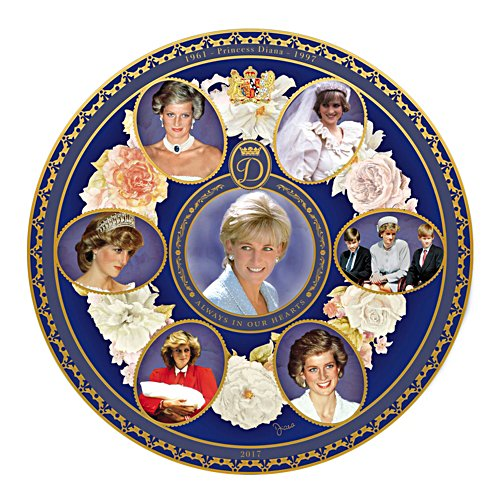 Princess Diana 20th Anniversary Commemorative Plate