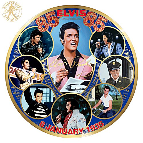 Elvis™ 85th Birthday Gallery Editions Plate