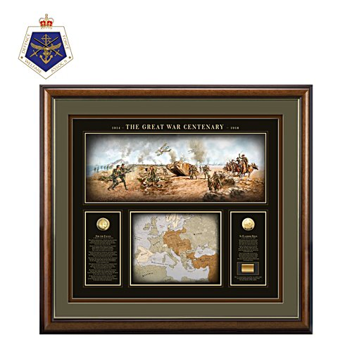 The Great War Centenary Print With 24K Gold Coins