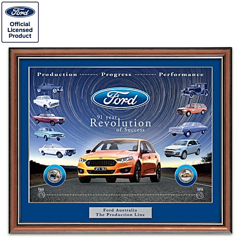 Ford First and Last Commemorative Gallery Edition Print