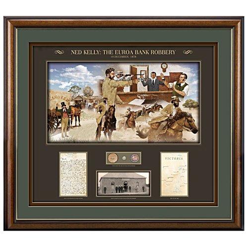 Ned Kelly Euroa Heist Print
