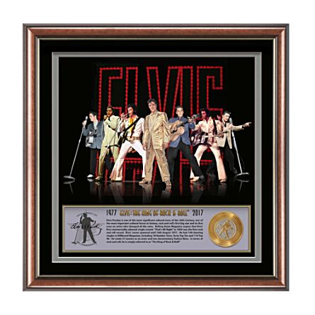 Elvis 40th Anniversary Gallery Editions Print