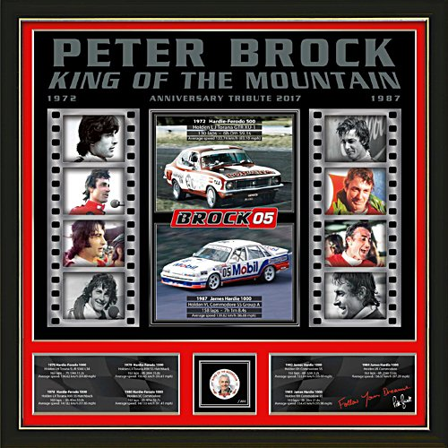 "Peter Brock ""King of the Mountain"" Gallery Edition Print"